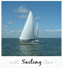 Sailing in Canet-en-roussillon and Saint Cyprien, France